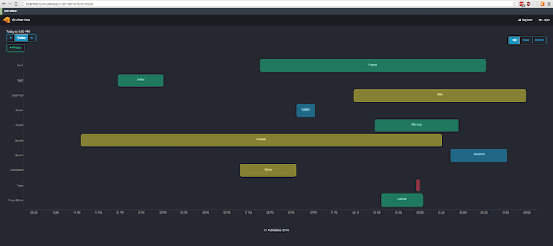 Gantt chart with reactjs and d3js ccuart Gallery